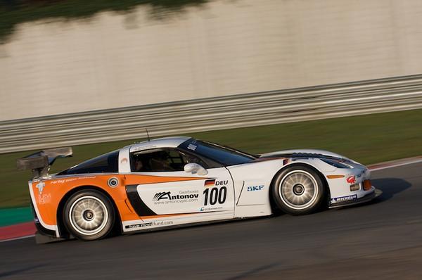 # 100 - FIA GT3 - 2010 - Zolder - Callaway Z06R - Marius Ritskes/Beranard van  Oranje