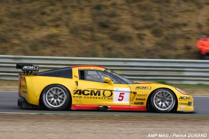 # 5 - 2007 FIA GT1 - Phoenix Carsport C6R-005. Drivers are Mike Hezemans, Jean-Denis Delatraz, Fabrixio Golin and Marcel Fassler