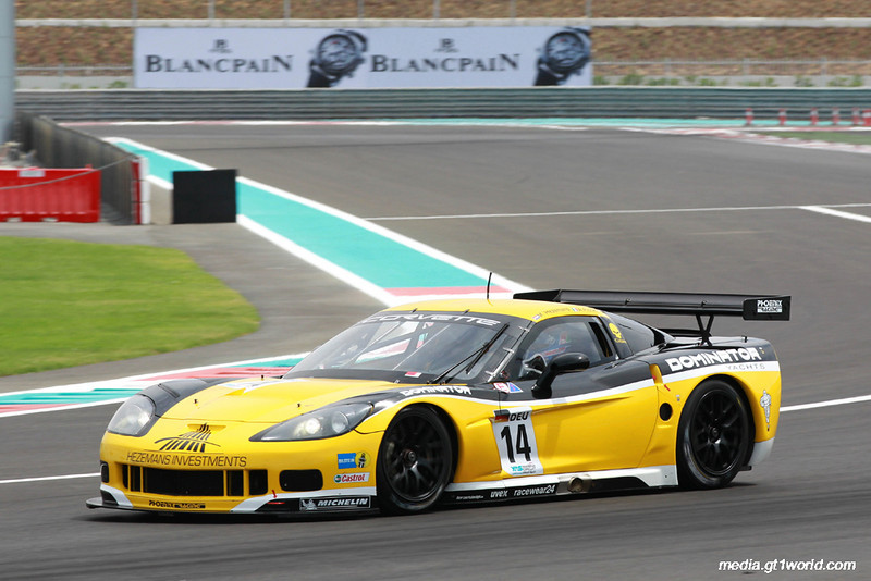 # 14 - 2010 FIA GT1 - Phoenxi Racing C6R-001. Drivers are A. Kumpen and Dandrea Piccini at Yas marina, Abu Dhabi (UAE), April 2010. Photo by Jean Michel LeMeur.<br /> <br /> _