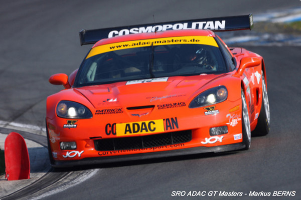# 19 - 2009 SRO-ADAC GT3 - Callaway Z06.R - Drivers are Girling and Rickli
