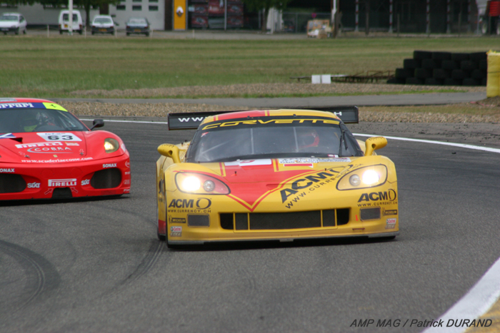 # 5 - 2007 FIA GT1 - GLPK-Phoenix Carsport C6R-001. Drivers are a combination of Jean-Denis Deletraz, Marcel Fässler, Mike Hezemans and Fabrizio Golin