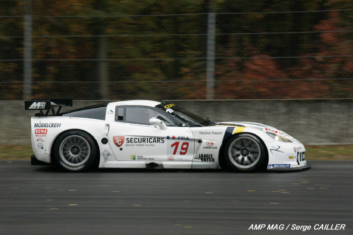 # 19 - 2009 FIA GT1  - Luc Alphand Aventures - C6R-003 - Drivers are Thomas Biaggi and _ Moreau. Luc Alphand cars ran as # 73 and # 74 at LeMans