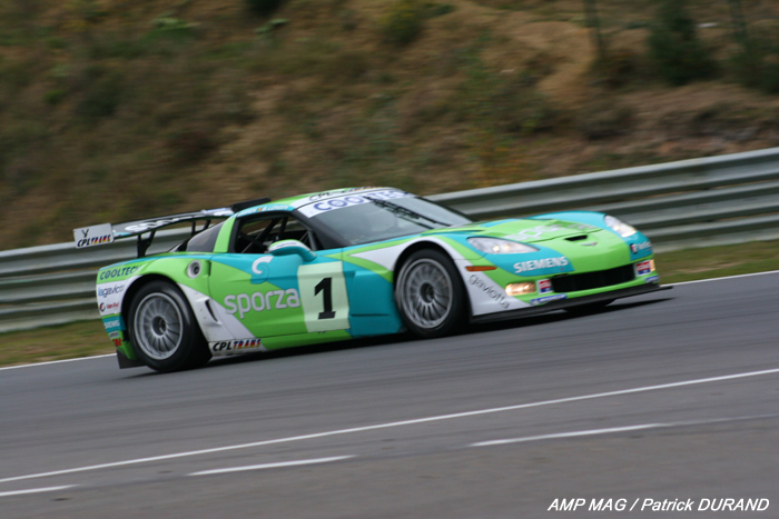 # 1 - 2007 SRO-Belcar GT3 - PK Racing - Callaway Z06.R - drivers are Longin and Kumpin