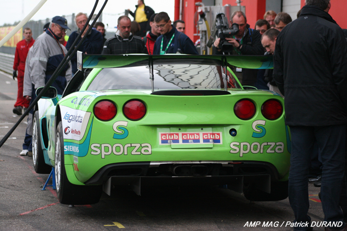 # 1 - 2007 SRO-Belcar GT3 - PK Racing - Callaway Z06.R - drivers are Longin and Kumpin