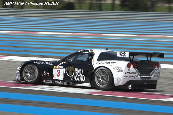 # 3 - 2009 FIA GT1 - SRT Racing C6R-006. Drivers are Bert Longin and James Ruffier