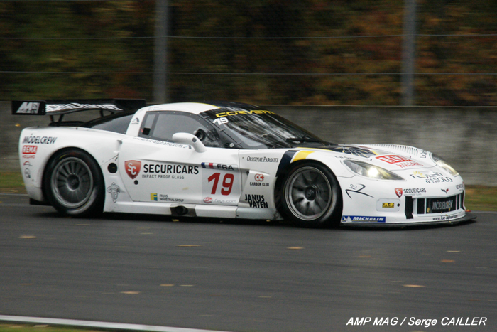 # 19 - 2009 FIA GT3  - Luc Alphand Aventures - Drivers are