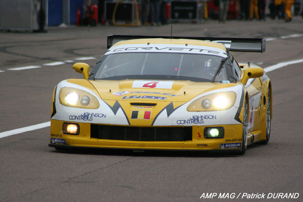 # 4 - 2009 FIA GT1 - Phoenix (Pekaracing/PK Carsport) C6R-005. Drivers are Anthony Kumpen and Mike Hezemans