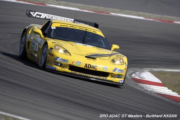 # 18 - 2009 - SRO-ADAC GT3 - Toni Seiler Racing-Callaway Z06.R - Drivers are Toni Seiler and Christian Hodenadel