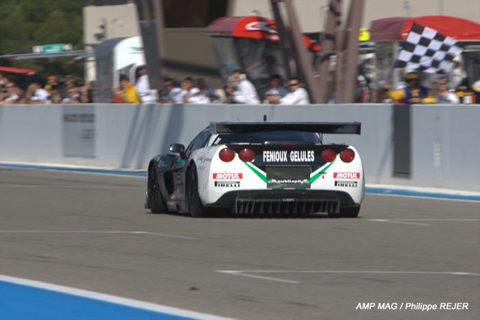 # 3 - 2009 FIA GT1 - SRT Racing C6R-006. Drivers are Bert Longin and James Ruffier