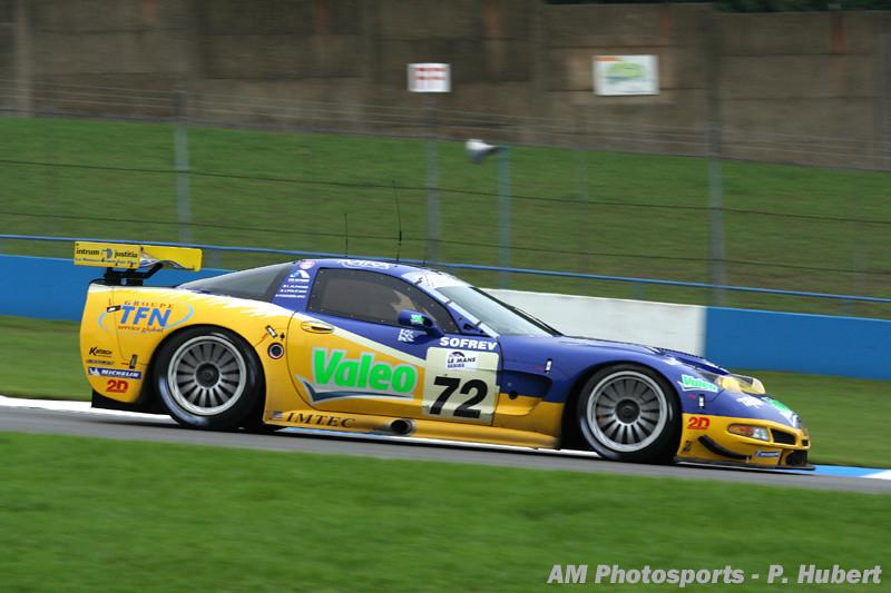 # 72 - 2006 European LeMans Series (ELMS), Donnington Park (UK). Luc Alphand Aventures Cr5-010. Drivers unknown.