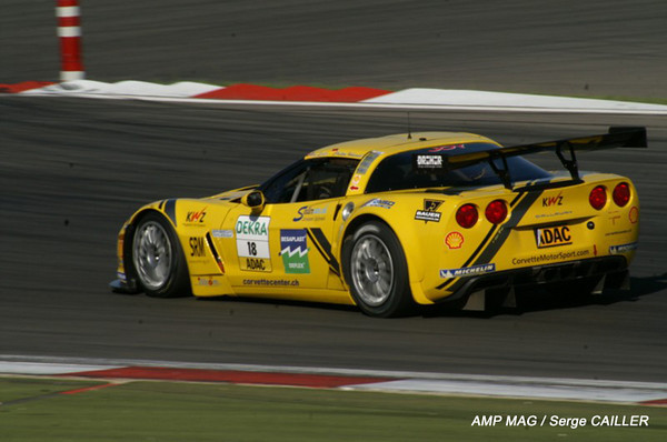 # 18 - 2009 - SRO-ADAC GT3 - Toni Seiler Racing-Callaway Z06.R - Drivers are Toni Seiler and Christian Hodenadel