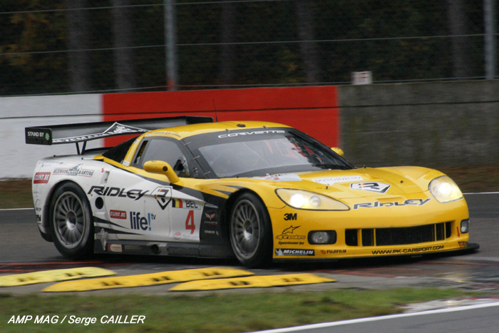 # 4 - 2007 FIA GT1 - PK Carsport C5R-011. Drivers are Burt Longin, Anthony Kumpen, Kurt Mollekens and Frederic Bouvy
