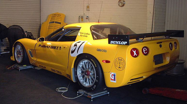 # 50 - 2004 FIA British GT - Xero Competition. Drivers are Ricky Cole and Peter LeBas
