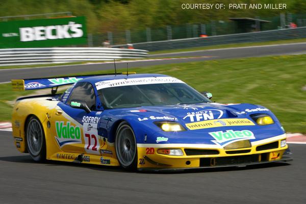LMS Spa 2006.<br /> Team Luc Alphand Aventures, <br /> Corvette C5R #72.<br /> Drivers : A.Beltoise (FR), J.Polican (FR), P.Goueslard (FR)
