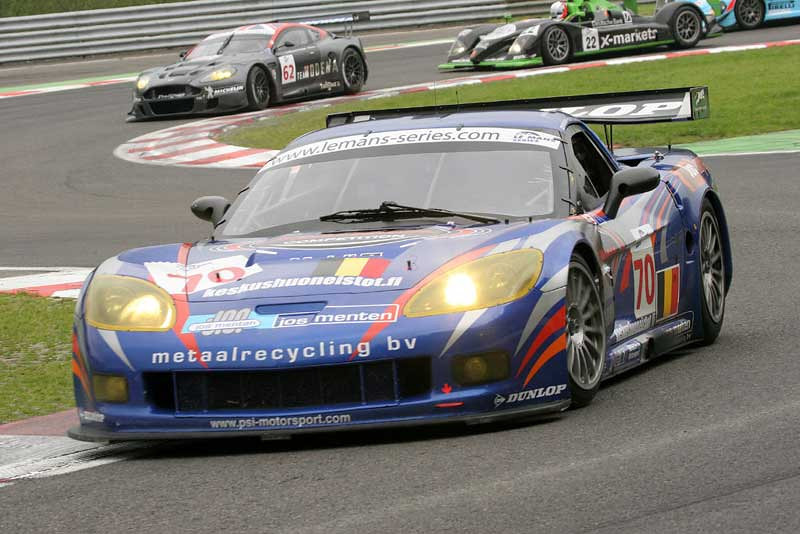# 70 - 2006 ELMS - PSI Experience, C6R-002. Drivers are unknown