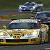 # 4 - 2006 FIA GT1 and 2007 ELMS - GLPK (Carsport) C6R-001. Drivers are Anthoney Kumpen, Bert Longin, Mike Hezemans, and Kurt Mollekens.