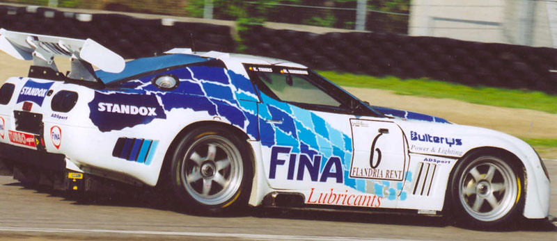# 6 - 1999 SRO-FFSA GT2 - Francor Mini Models - Callaway C12.R. Chassis # unknown. Drivers unknown.