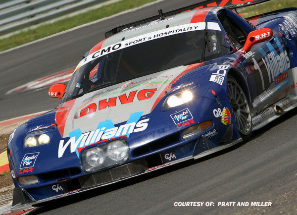 # 1 - 2006 SRO-Belcar - Selleslaugh Racing (SRT) C5R-007. Drivers are Mike Hezemans and D Hart. Photo by R. Pincus.