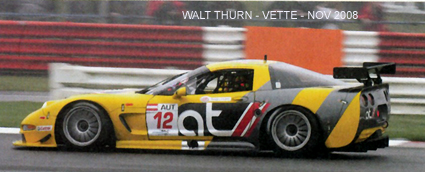 # 12 - 2008 GT1 Citation Cup - AT Racing C5R-007. Drivers are not identified. Photo courtesy of Walt Thurn; scanned from VETTE magazine.