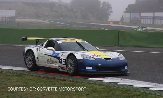 # 43 - 2007 FIA GT3 - Callaway Z06.R. Drivers are Pirro and Marchetti