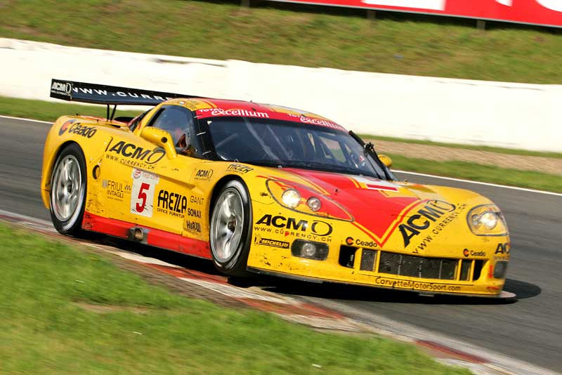 # 5 - 2007 FIA GT1 - Pheonix Carsport (Holland) C6R-005. Drivers are (variously) Mike Hezemnas, Jean-Denis Deletraz, Fabrizio Golin, and Marcel Fässler.