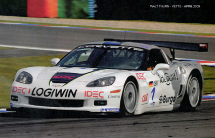 # 1 - 2006 FIA GT3 Series - Callaway-Carsport Z06.R - Nicola Bulgari sponsor - Drivers are (variously) Klaus Ludwig, Uli Berberich-Martini, John Heinricy and René Schell.