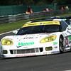 # 72 - 2009 FIA GT1 - Luc Alphand Aventures C6R-003. Drivers are Yann Clairay, Xavier Massen, Julien Jousse