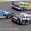 # 3 - 2008 FIA Gt1 - Selleslaugh Racing Team (SRT) C6R-006. Drivers are (variously) Christophe Bouchut and Zavier Mässen. Photos courtesy of Walt Thurn; scanned from VETTE magazine.