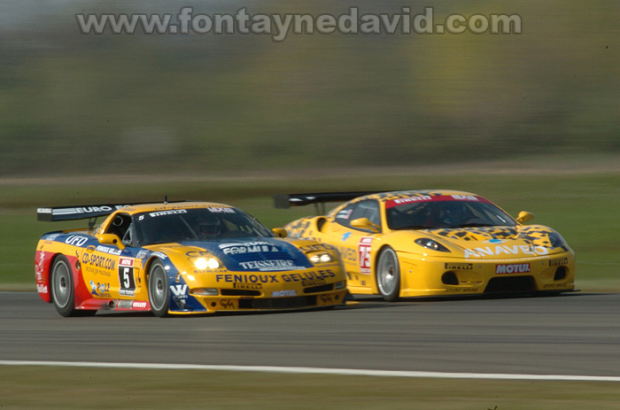 # 5 - 2007 FFSA GT1 - SRT C5R-011. Drivers are Cazenave and Cayrolle