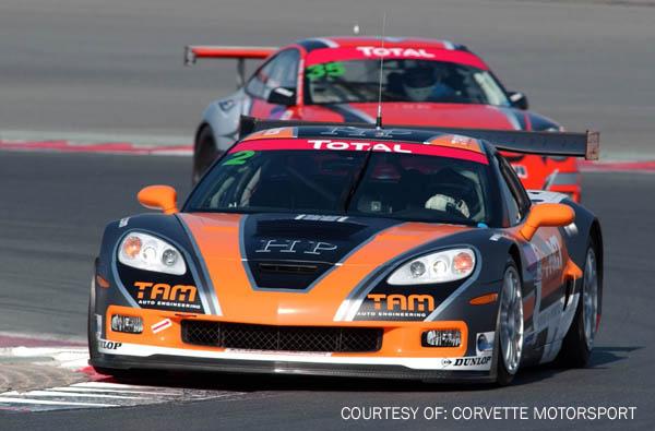 # 2 - 2009 FIA GT3 - TAM auto Engineering/House of Portier Callaway Z06.R - Driver is Karim-Al-Azhari