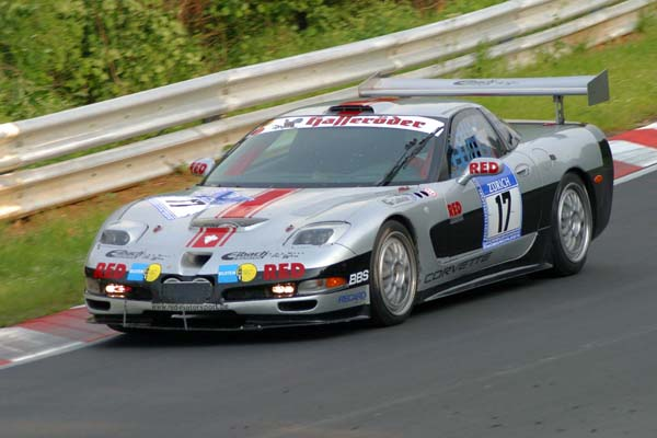 # 17 - 2003 SRO-ADAC GT Masters - Hafferoder Racing - Nurburgring. Driver unknown.