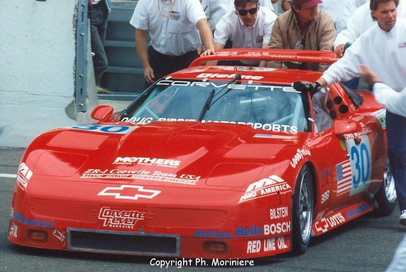 # 30 - FIA GT1 Le Mans, 1995 - ZR1 - John  Paul Jr., Chris McDougall, Jim Mero