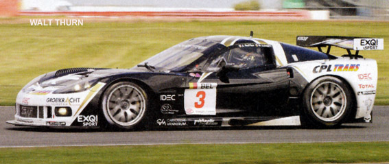 # 3 - 2009 FIA GT1 (Spa) - Selleslaugh Racing Team (SRT) C6R-006. Drivers are Burt Longin and James Ruffier.