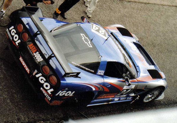 # 24 - 2006 FFSA GT1 PSI Experieince C5R-00_. Drivers are: David Hallyday and Philippe Alliot.