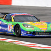 # 8 - 2009 FIA GT1, Spa - Sangari Team Brazil (DKR Racing) C6R-002. Drivers are Ricardo Bernoldi, Xavier Mässen, and _ Streit. For the 2009 season, DKR made a deal with a new team (Sangari) to run as Team Sangari Brazil. The season started with DKR running the first race under their own banner (Jos Menten and marcus Pelttala driving). The conversion fo the car to Team Sangari colors took place early in the season and the car first appeared at Spa. At the end of the season, the deal collapsed and the DKr car was subsequently subsumed under the Mad Croc banner.