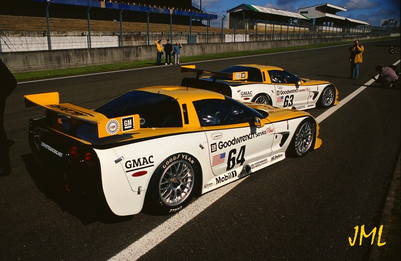 # 63 and # 64 - 2000 FIA-ACO 24 Hours of LeMans - Press Photo Op - Photo by JM Lefebvre.
