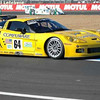 # 64 - 2005 FIA -ACO 24 Hours of LeMans, GT1 - Corvette Racing program C6R-002. Drivers are Oliver Gavin, Olivier Beretta, Jan Magnussen . Photo by JM Lefebvre.