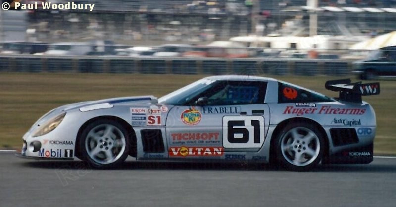 # 61 - 1995 IMSA GTS1, Daytona - Team Callaway/CallawayCompetition C12-R-001. Drivers are Enrico Bertaggia, Philippe Olczyk, Seppi Wendlinger, and Johnny Unser.