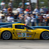 Corvette Racing, 12 Hours of Sebring, 3/18/06, C6.R #3 driven by Ron Fellows, Johnny O'Connell, and Max Papis, C6.R #4 driven by Oliver Gavin, Olivier Beretta, and Jan Magnussen, ©2006 Richard Prince, Media use only, Photo credit Richard Prince/GM Racing.