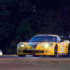 Corvette Racing, American Le Mans Series, Petit Le Mans, Road Atlanta, October 4, 2008. C6.R #3 driven to first in GT1 by Johnny O'Connell, Jan Magnussen, and Ron Fellows, C6.R #4 driven to second in GT1 by Oliver Gavin, Olivier Beretta, and Max Papis (Richard Prince/GM Racing).