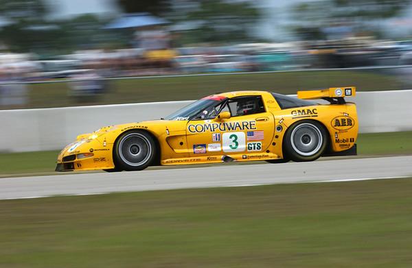 2003 Sebring Corvette Racing #3 Chevrolet Corvette C5-R at The Mobil 1<br /> 12 Hours of Sebring