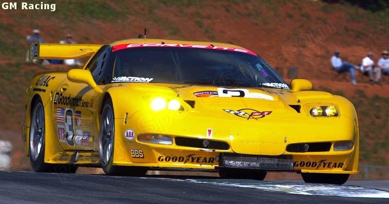 Ron Fellows , Johnny O'Connell, Corvette Racing, C5R, 2001
