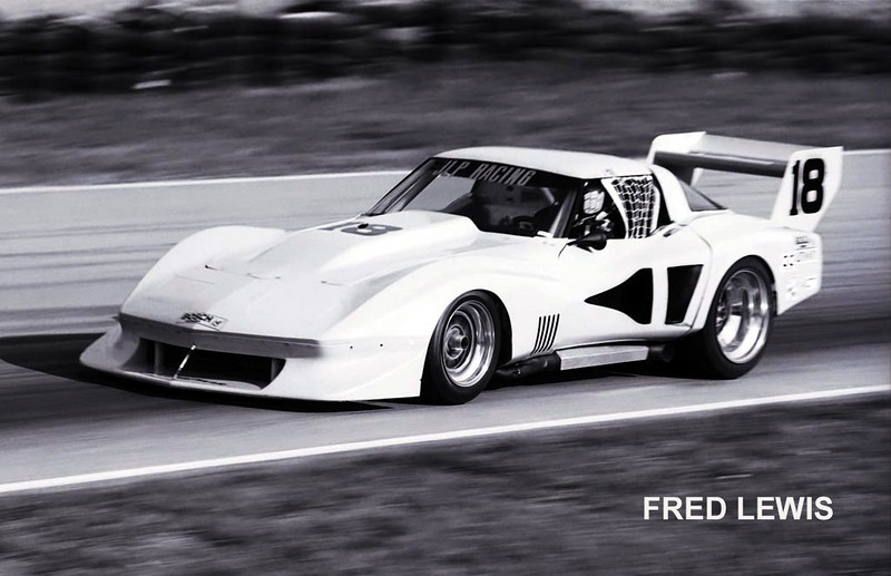 # 18 - IMSA GTO - Road Atlanta, April, 1978 - John Paul driving the second of Greenwood's new bob Riley-designed full tubeframe cars. The car was actually purchased directly from Bob Riley and assembled in John Paul's shop. Norm Bogiel is credited with much of the asembly