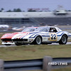 # 22 - IMSA GT, Nov, 1972, Daytona - Sam Posey and Denny Long in ex-Greenwood 1970 roadster. This car became the BANDAG (recycled tires) car