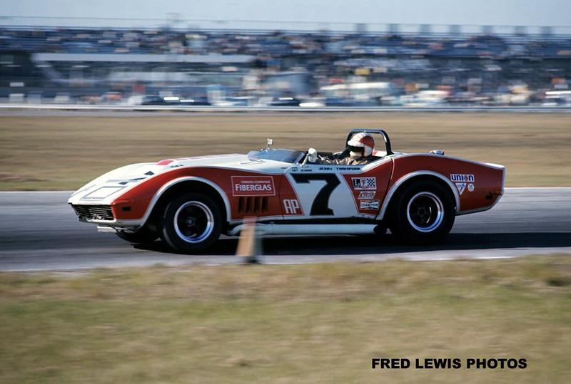 # 7 - SCCA AP, Daytona, 1969 Runoffs - Jerry Thompson