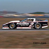 # 2 - IMSA GTO, 1988, Daytona - John Jones, Tommy Riggins, Greg Pickett in the second year of Polyvoltac (silicone adhesives) sponsorship. The new color scheme was used for the full year. Another Bob riley designed tubeframe car.