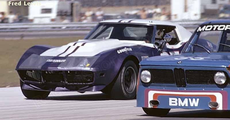 #7 - IMSA GT, Nov, 1973, Daytona - Don Yenko, Ray Mummery. Remnants of the Sunray DX color scheme are still evident.