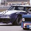 #7 - IMSA GT, Nov, 1973, Daytona - Don Yenko, Ray Mummery. Remnants of the Sunray DX color scheme are still evident.