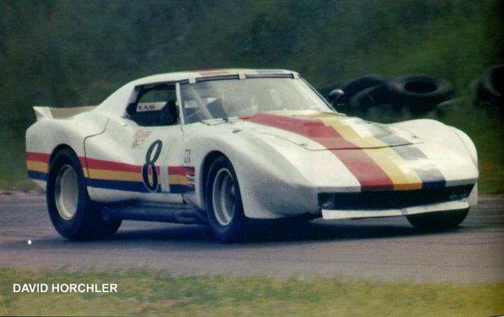 # 81 - IMSA GT, - 198x, Mike Agee (former Tim Startup # 54 and also # 61) at Road America.  Photo included for historical continuity purposes.