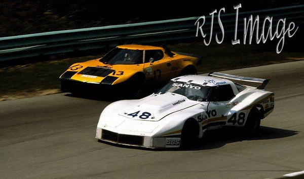 # 48 - IMSA GTO, 1981, John Carusso & Phil Currin at Road America 500